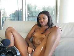 Ebony Teenager Rammed