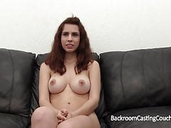 Big Tits Coed Assfuck Casting, BF Don't Know