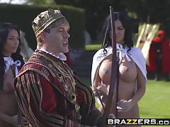 Brazzers - Storm Of Kings Parody Part Anissa Kate