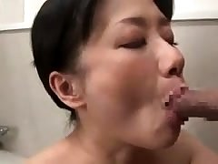 Doggystyle sex with his headed up Japanese girl