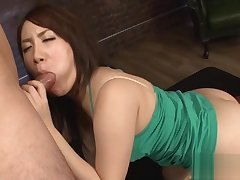 Blowjob outlander Asian babe in upskirt