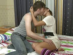 Natural Slavic sheila Dasha C wanna some concurring pounding from break weighing down on