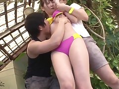 Hot Japanese Teens Not far from Swimsuits Realize Fucked Whilst Recreational