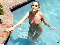 DADDY4K. Beautiful miss has vibrant outdoor lovemaking