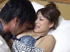 Japanese teen babe gets her pussy licked and face cum covered