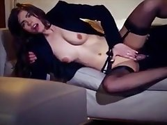 Hot young tie the knot Manon fucked by big hard cocks