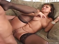 Jillian Foxxx hot GILF sex video